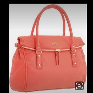 Kate Spade Cobble Hill Leslie Satchel - Coral